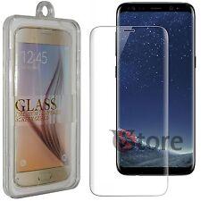 """Pellicola in Vetro Per Samsung Galaxy S8 G950 Curvo Protezione Display LCD 5.7"""""""