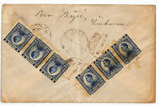 LL245 1921 CROATIA Zagreb Yugoslavia Env Sealed Postage Stamps {samwells-covers}