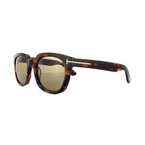 b557bad66842 Image is loading Tom-Ford-Sunglasses-0198-Campbell-56J-Havana-Brown-