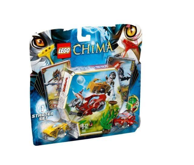 Lego Legends of Chima 70113 CHI BATTLES Longtooth Wakz Rare New!