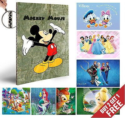 Children Wall Art Animation Characters A4 POSTERS Room Decoration Gift for Kids
