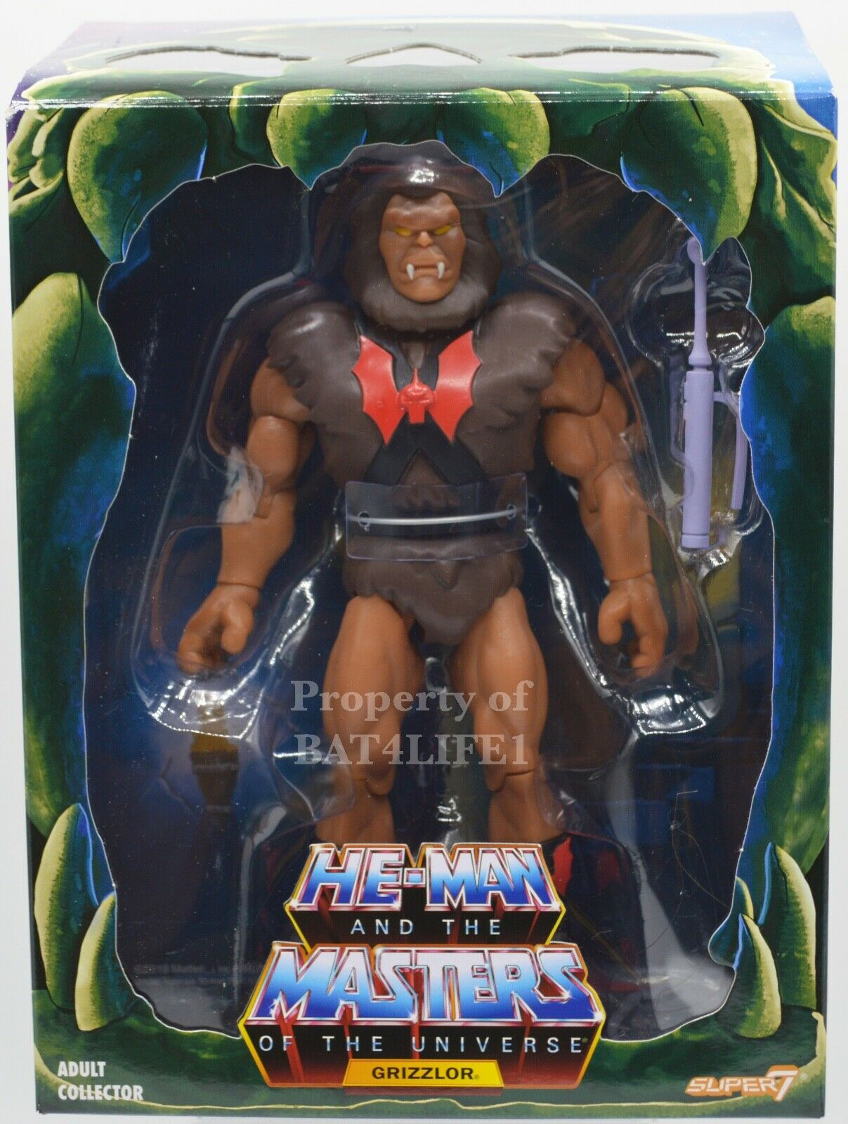 Masters Of The Universe Filmation 2.0 SUPER 7 GRIZZLOR NEW