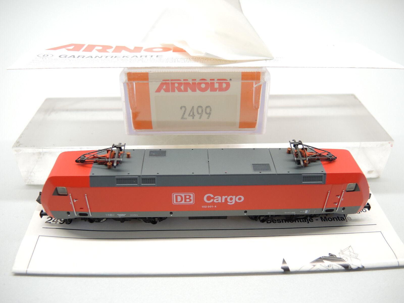 Arnold 2499 E-Lok BR 152 001-4 delle DB CARGO, molto bene, OVP