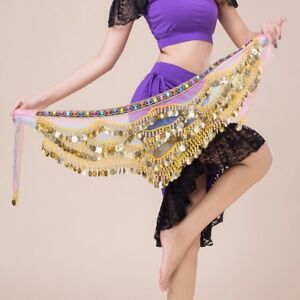 Belly Dance Triangle Hip Wrap Scarf Skirt Belt Dancer Costumes Fancy Skirt Wrap