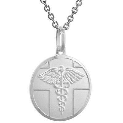 4 CNA Charms Medical Symbol Charms Antique Silver Charm 22mm YD4334