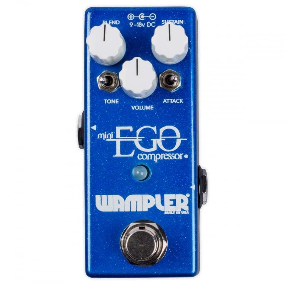 Wampler Mini Ego Compressor Comp Guitar or Bass Effect Pedal - Brand New