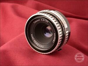 M42 Carl Zeiss Jena Tessar 50mm f2.8 Zebra Prime Standard Lens - 590
