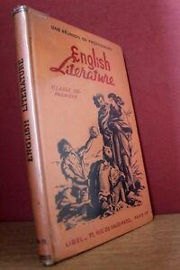 A meeting of teachers english literature first class ligel 1953 (ed.