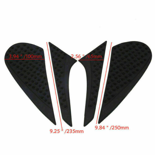 4xFuel Tank Traction Side Pad Gas Knee Protector for Honda CBR600RR//1000RR CB CR