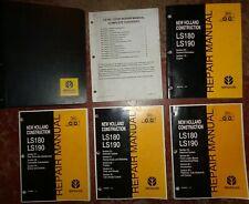 New Holland Ls180 Ls190 Skid Steer Loader Service Repair Manual Nh Original 703