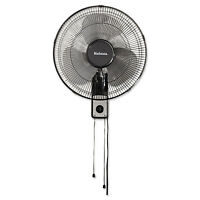 Holmes 16 Wall Mount Fan 3-speed Metal Black Hmf1611aum on sale