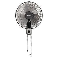 Holmes 16 Wall Mount Fan 3-speed Metal Black Hmf1611aum