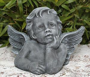 sculpture en pierre Ange Décoration Funéraire Statue d\'ornement de ...