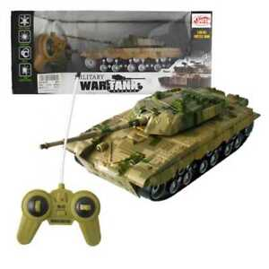 Details about R/C Military War Tiger Battle Tank 1:32 Scale 360deg Turret  Rotate Toy Tank NEW