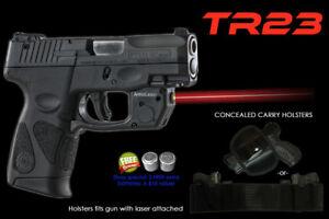 Details about Arma Laser TR23 Red - Taurus PT111/PT140 Millennium G2 G2C w/  Concealed Holster