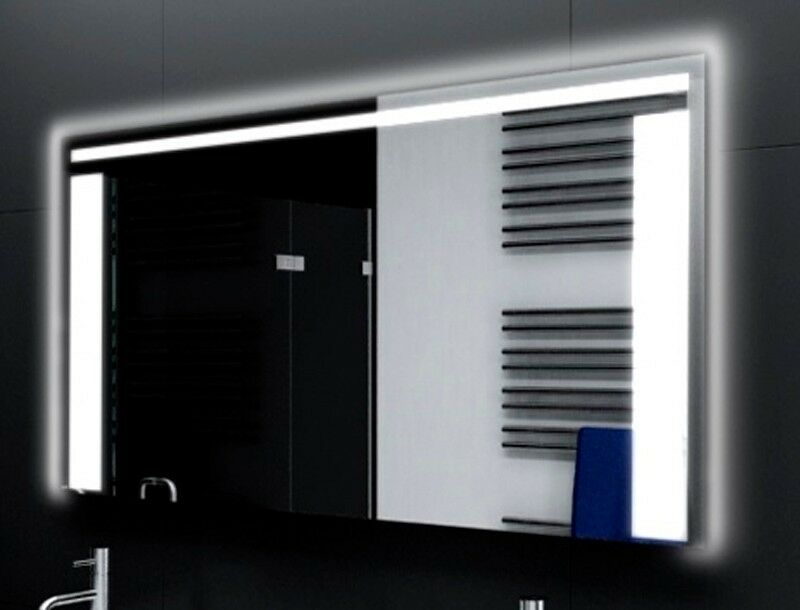 Badspiegel mit LED Beleuchtung Badezimmerspiegel Bad Spiegel Wandspiegel M119