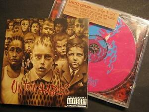 KORN-034-UNTOUCHABLES-034-CD-LIMITED-EDITION
