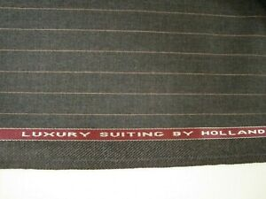 4-yd-HOLLAND-SHERRY-WOOL-FABRIC-Crispaire-Super-Fine-9-5-oz-SUITING-146-034-BTP