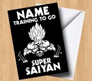 Image Is Loading Personalised Gym Training To Go Super Saiyan Dragon
