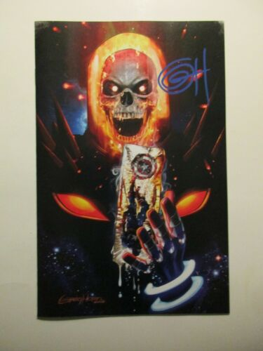 Cosmic Ghost Rider Destroys Marvel History 1 Greg Horn Signed C2E2 Exclusive