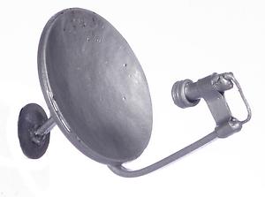 Dollhouse Miniature - Small Silver Satellite Dish - 1:12 Scale