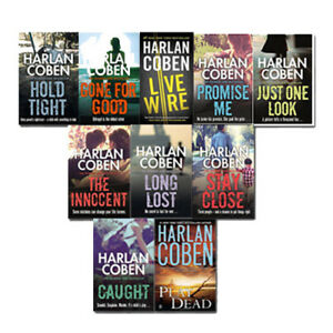Harlan-Coben-Myron-Bolitar-series-10-books-Collection-Set-New