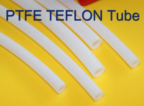 1m Length OD 4mm ID 2mm PTFE  Tubing Tube Pipe hose per meter
