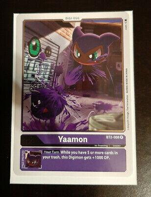 VenomMyotismon BT2-079 foil accent Digimon Card 2020 ENGLISH PURPLE