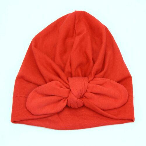 Head Wraps super mignon élégant Coton Full Turban Hiver Chaud Confortable Pour Bébé Fille