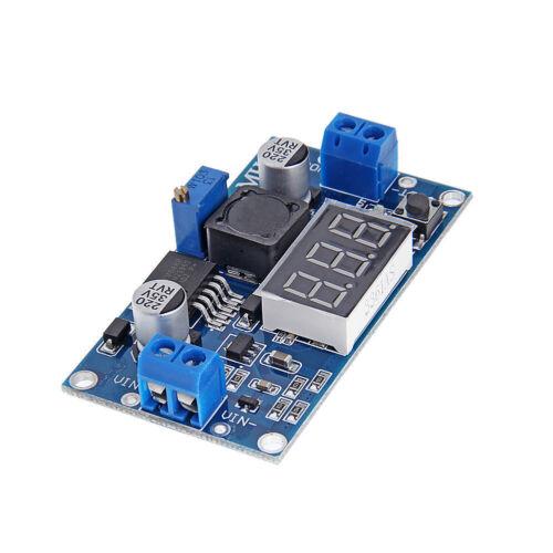 LM2596 DC//DC Spannungsregler StepDown Regler mit LED Voltmeter Arduino Raspberry