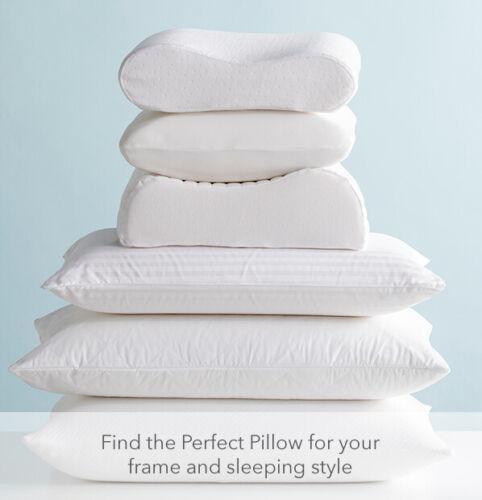 Dunlopillo Therapillo Memory Foam Low|Medium|High Cooling Gel Top|Dual Pillows