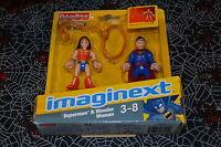 Fisher Price Imaginext Superman & Wonder & Woman