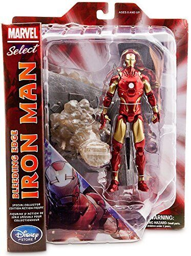 Selezionare Marvel Action Figure emorragia bordo IRON MAN