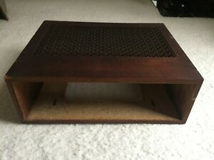 Vintage-Original-Fisher-X-100C-Wood-Case