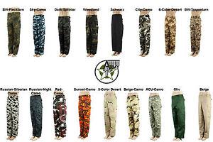US-Rangerhose-Army-Cargo-Hose-BDU-in-verschiedene-Farben-XS-S-M-L-XL-XXL-2XL