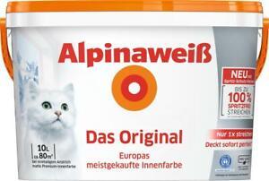 Alpinaweiss-Das-Original-Innenfarbe-Wandfarbe-Alpinaweiss-matt-10-L-Weiss-TOP