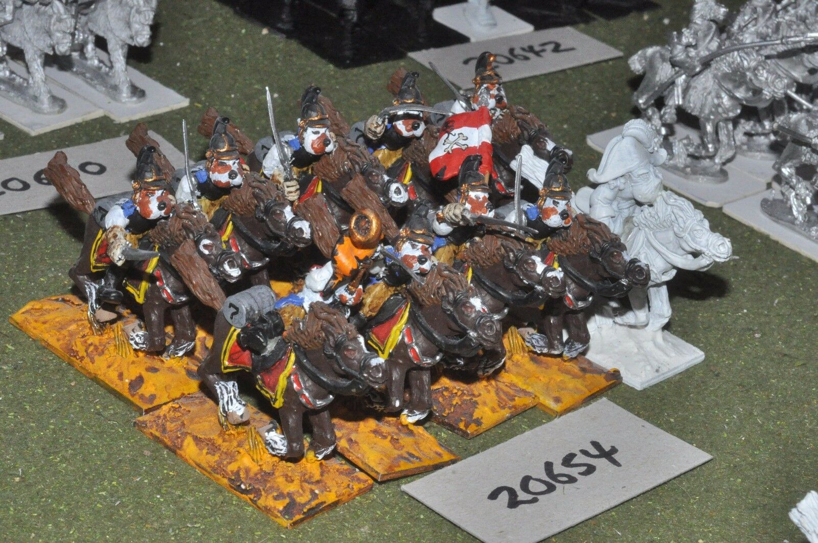 Flintloque ostarian finklestien cuirassiers 10 cavalry (as photo) {16} (20654)