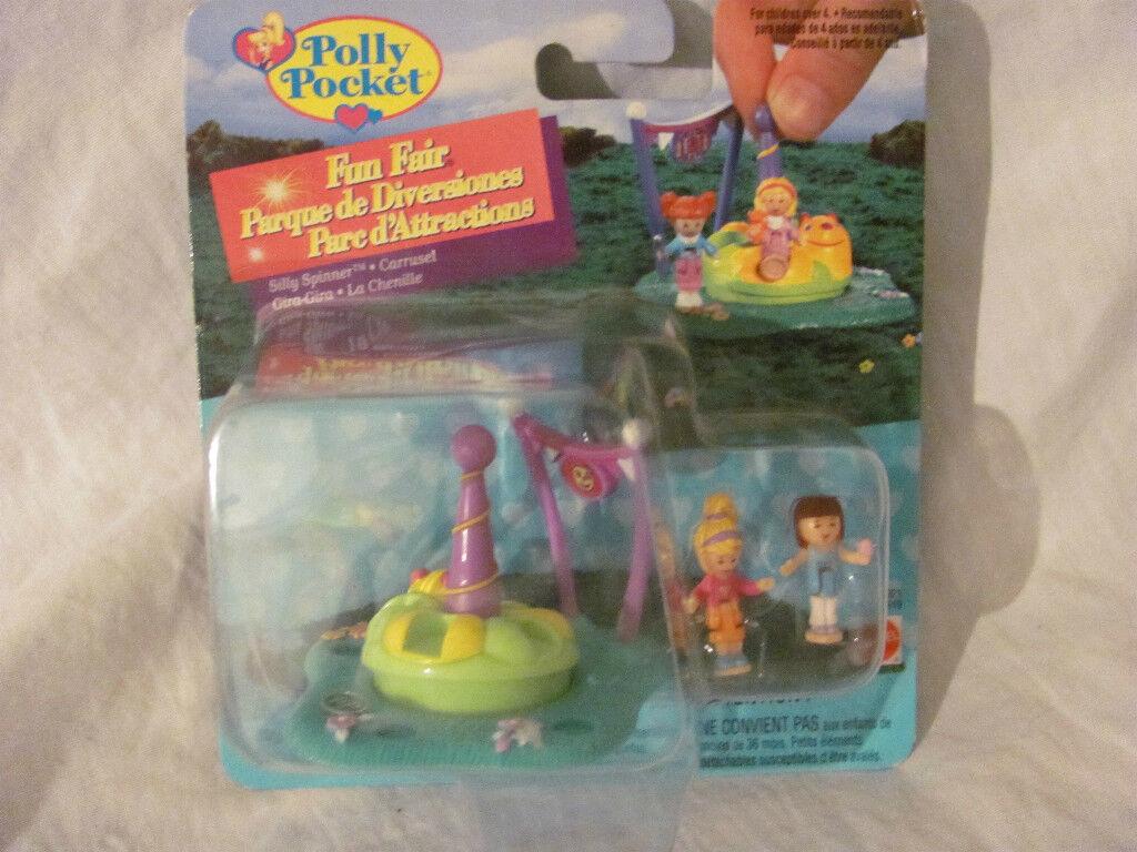 Brandneu in Karton Karton Karton Vintage Polly Pocket Spaß Fair Spielset - Silly Spinner 28c0b6