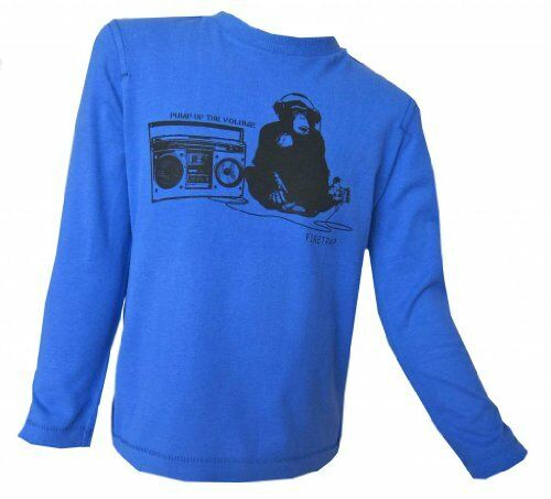 Firetrap Boys Long Sleeved Top /'Monkey Radio/' 100/% Genuine Firetrap 3Y 15 Year