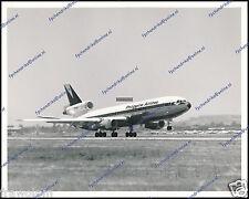 "PHILIPPINE AIRLINES DC-10 PH-DTI, ORIGINAL PERIOD KLM NUMBERED PHOTO 8""x10"" (b)"