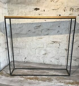 Image Is Loading Industrial Style Minimal Narrow Console Hall Table Modern