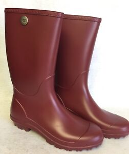 447256c69b19 Image is loading Ugg-Australia-Shelby-Matte-Rain-Boots-Rubber-Boots-