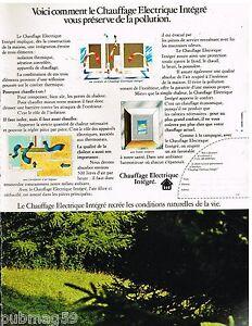 Publicite-Advertising-1972-Le-Chauffage-Electrique-integre