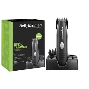 babyliss 7107u beard moustache trimmer battery operated clipper ebay. Black Bedroom Furniture Sets. Home Design Ideas