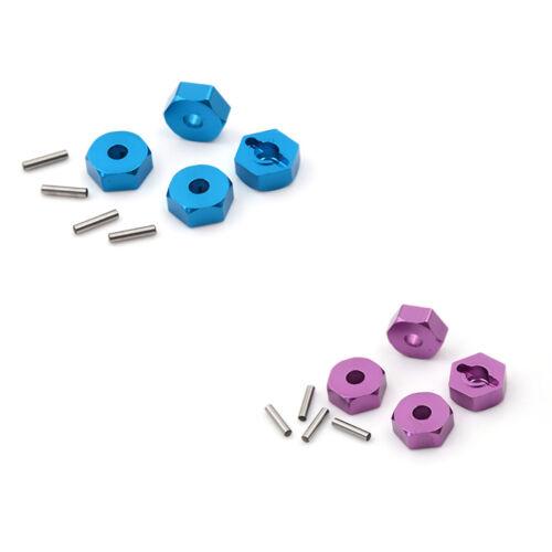 4pcs Aluminum Wheel Hex Nut 12MM With Pins Drive Hubs HSP 1//10 Upgrade PartWTUS