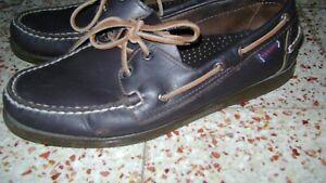 le dernier 850ec 6f2d3 Details about Shoe sebago dockside mens chocolate brown size 43- show  original title