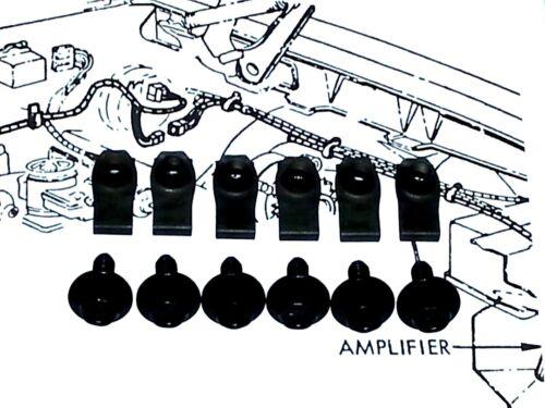 Impala Monte Carlo GS 442 Cutlass Biscayne Fender Wheel Well Hardware Bolts OB