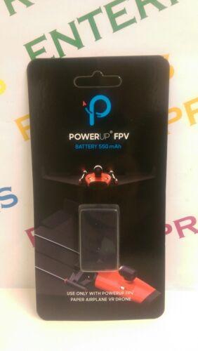 Genuine Encendido FPV Avión De Papel VR Drone Parrot 550 mAh batería recargable