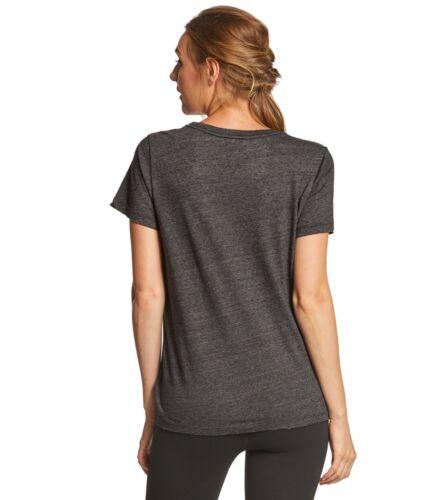 Spiritual Gangster women/'s varsity t shirt vintage black size s new