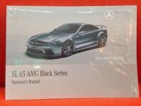 Brand Sealed Mercedes Sl65 Sl 65 Black Series Amg Owners Manual Sealed